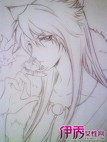 【图】大师铅笔手绘漫画美少女 现代社会设计美学的传承