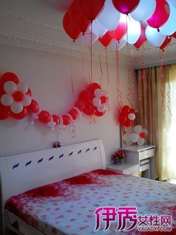【图】盘点新娘房间气球布置图片 营造喜庆温馨的氛围图片