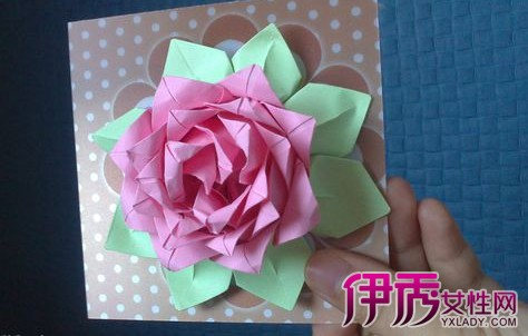 【荷花折纸花步骤图解】【图】荷花折纸花步骤图解