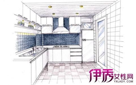 【厨房手绘效果图】【图】厨房手绘效果图