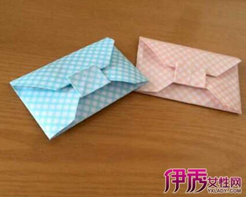 如果你做个可爱信封,找一张4纸