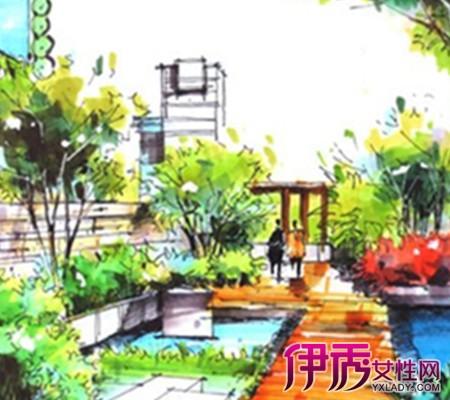 【简单园林手绘图】【图】简单园林手绘图欣赏