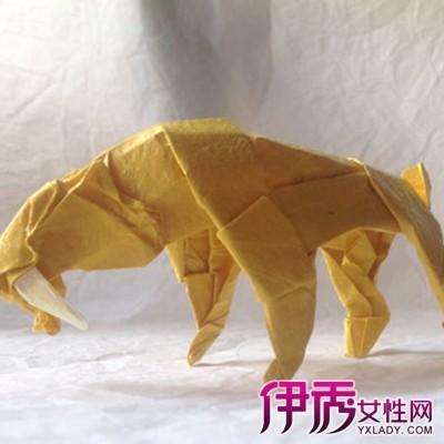 【图】老虎折纸图解大全 老虎折纸的两种方法的讲解