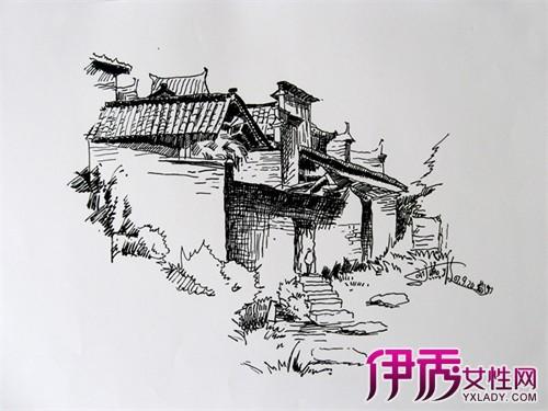 【中国古建筑手绘】【图】悠久的中国古建筑手绘