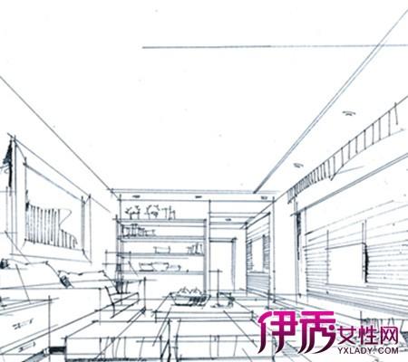 【图】室内建筑景观手绘线稿图片展示 了解手绘与线稿的区别