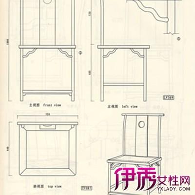【创意椅子手绘三视图】【图】创意椅子手绘三视图