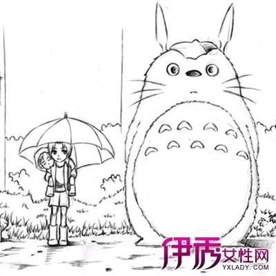 【龙猫手绘】【图】龙猫手绘图片欣赏