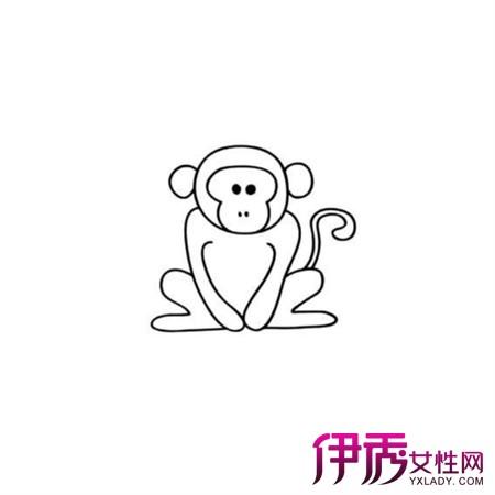【图】展示简笔画猴子 3大点向你揭示简笔画对幼儿教育的意义