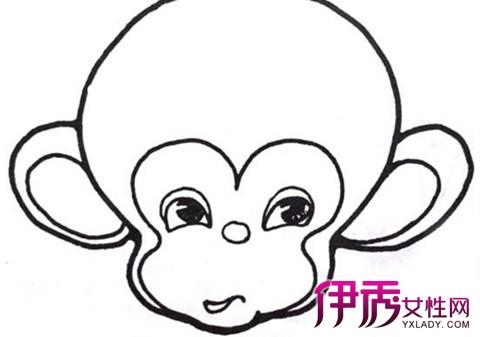 【简笔画猴子】【图】展示简笔画猴子