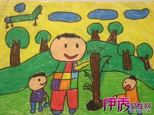 【图】小学生保护环境绘画 表达善待环境等于善待自己