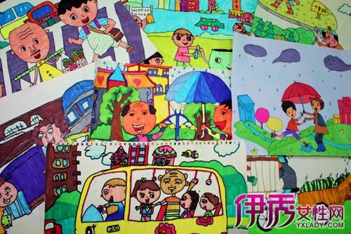 文明礼仪 幸福晋江 中小学生绘画