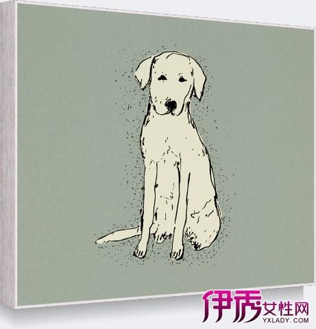 【图】可爱手绘动物教习大全 简单4步画出呆萌小狗