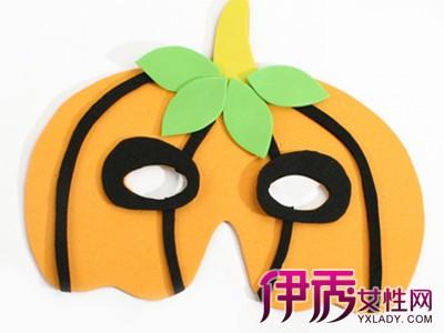 【图】儿童万圣节面具制作 教你做出好看又简单的面具