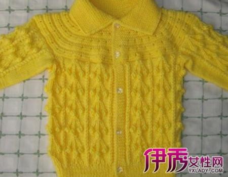 【宝宝毛衣手工编织法】【图】宝宝毛衣手工编织法