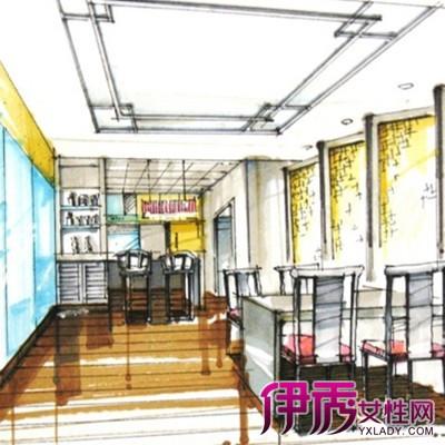 【图】餐厅手绘效果图鉴赏 手绘效果图3要素与你分享