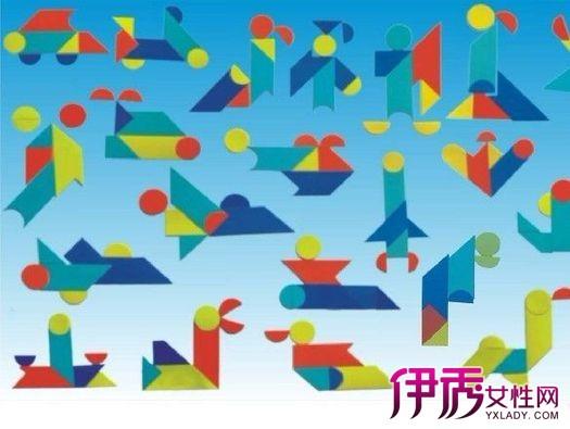 【图】小学生七巧板拼图展示 有效提高孩子智力的游戏图片