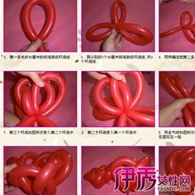 【图】分享长条气球玫瑰花图解 教你如何用气球扭出各种造型
