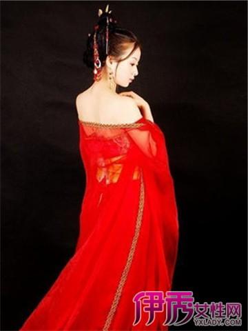 【图】手绘古装红衣美女大图欣赏 五个步骤教你学会手绘