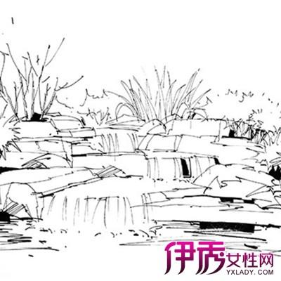【庐山手绘】【图】庐山手绘图片欣赏