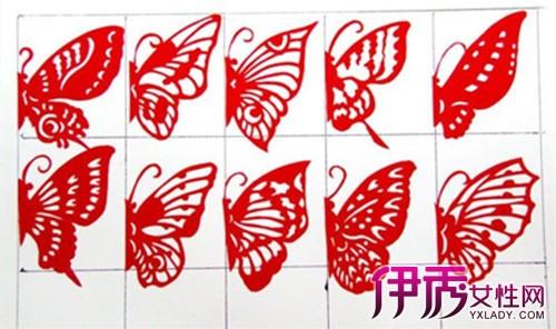 【图】简单剪纸蝴蝶步骤图片 小学生就应该学习剪纸