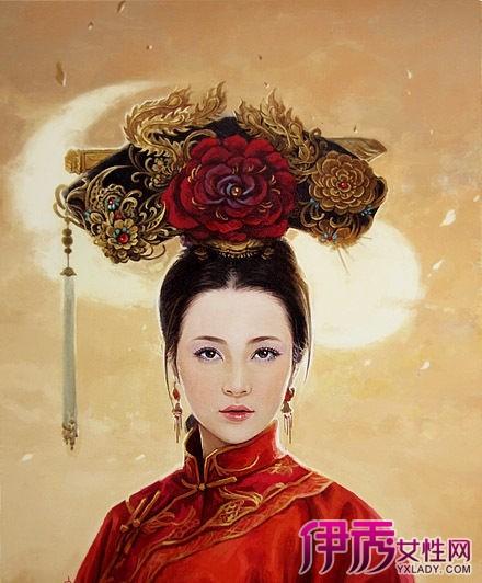 【手绘古装宫廷皇后】【图】手绘古装宫廷皇后图片
