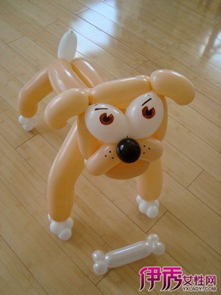 【气球做小狗】【图】气球做小狗的制作方法