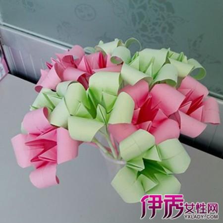 手工折纸牵牛花的折法图片教程_植物折纸_折纸教程  简单折纸睡莲的
