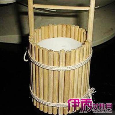 【筷子工艺品制作教程】【图】一次性筷子工艺品制作