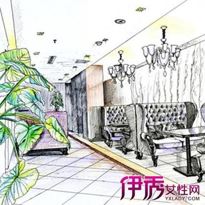 【咖啡厅手绘效果图】【图】咖啡厅手绘效果图鉴赏