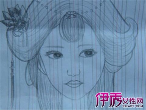 【图】手绘古风人物简笔画大全 手绘五大步骤分享