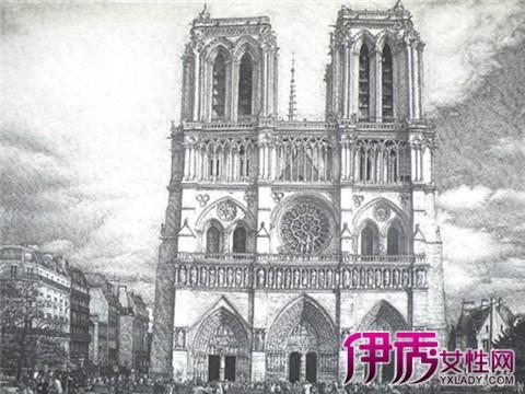 【巴黎圣母院手绘】【图】巴黎圣母院手绘图片大全