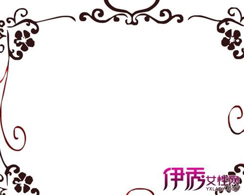 【超简单手绘花边边框】【图】超简单手绘花边边框
