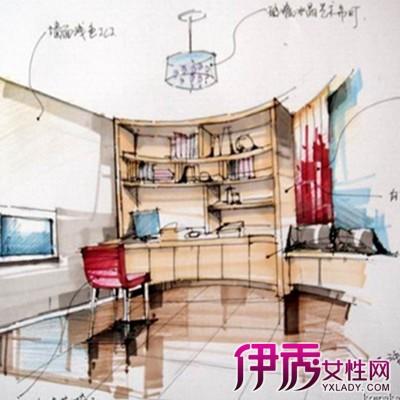 【书房手绘图】【图】书房手绘图大全