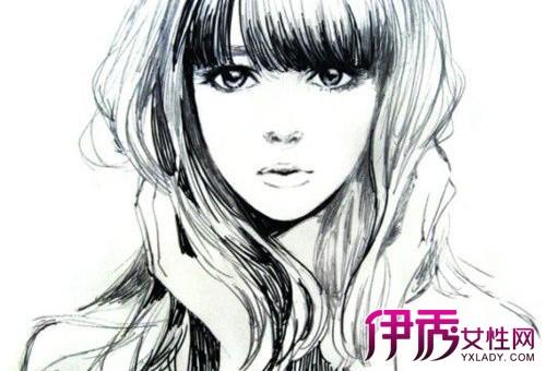 【铅笔画漫画人物女孩】【图】介绍铅笔画漫画人物