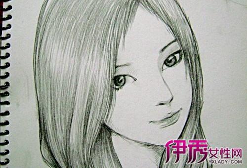 【图】介绍铅笔画漫画人物女孩