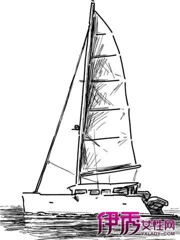 手绘帆船图片大全 六个步骤教你学会手绘
