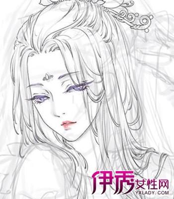 【古典美人手绘图】【图】古典美人手绘图片