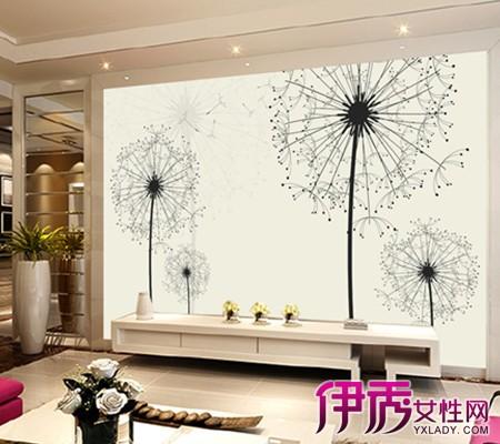 【手绘背景墙】【图】客厅电视手绘背景墙图片
