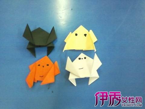 分享青蛙折纸大全图解 轻松学会两款不同折纸青蛙