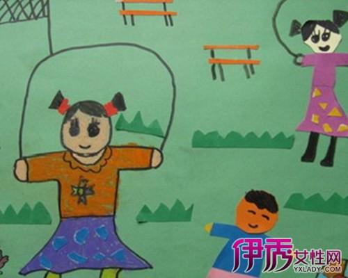 我健康我快乐儿童画_我健康我快乐 幼儿绘画作品_画画大全