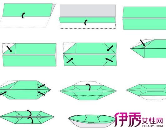 【折纸船步骤图片】【图】折纸船步骤图片大全