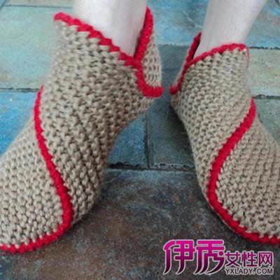【拖鞋花样】【图】编织拖鞋花样欣赏