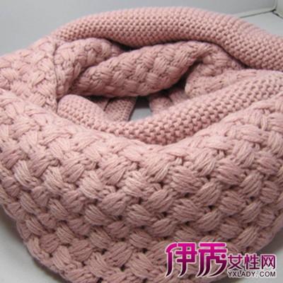 围巾的各种织法图解视频_打围巾的针法图解