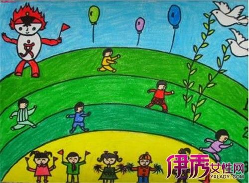 感恩老师绘画作品有哪些 几幅教师节儿童画分享图片