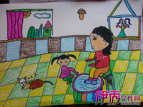 感恩老师绘画作品有哪些 几幅教师节儿童画分享