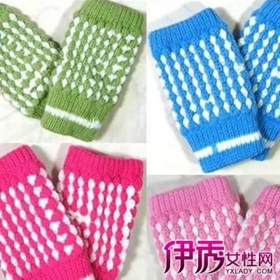 毛线手套编织花样图片大全 教你毛线手套的织法