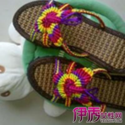 【图】毛线拖鞋的钩法图案大全