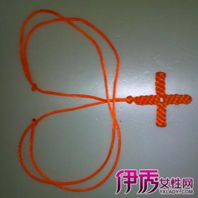 【图】黄金吊坠绳结的打法图解