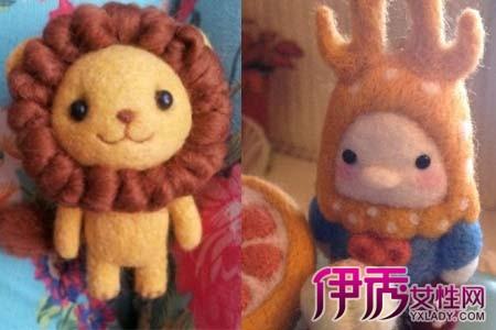 手残星人diy羊毛毡小动物制作 再也不用羡慕别人的小萌物