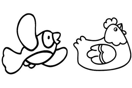 简笔画有利于开发孩童的大脑,丰富他们的想象力.图片